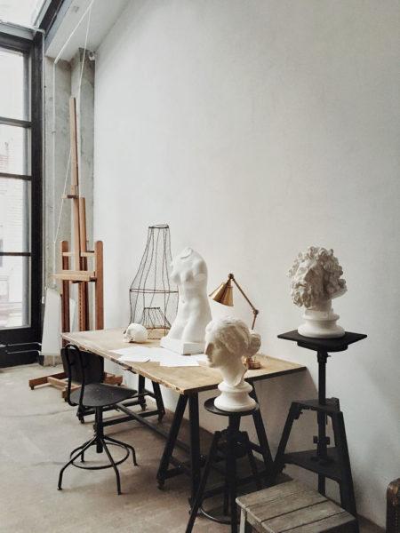фотостудия статуи